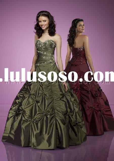 LY-5251 light dark green prom evening dresses gown dress fAShIoN designer evening dresses in various