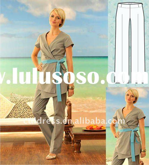 New style spa uniform spa dress tunics by ctd for sale for Spa uniform europe