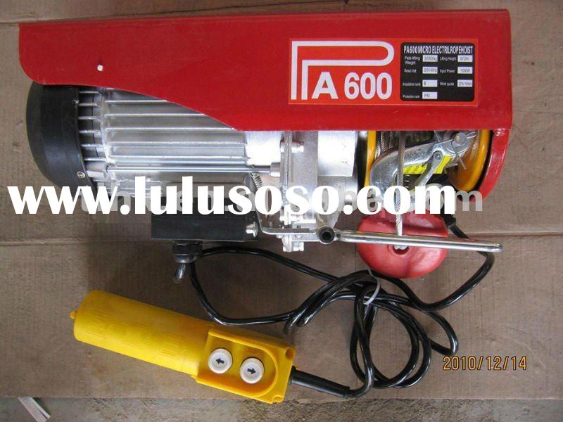 PA600 small electric rope hoist