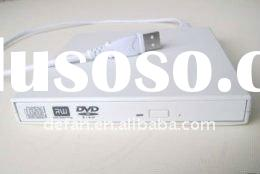 Replacement External USB DVD-RW Burner Drive For Acer Aspire One A110 white