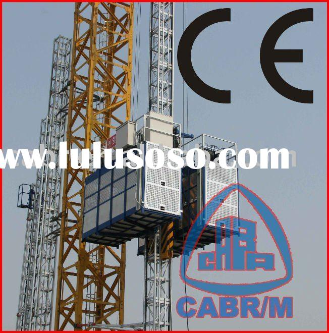SC200/200 VFD Speed rack and pinion Construction lift