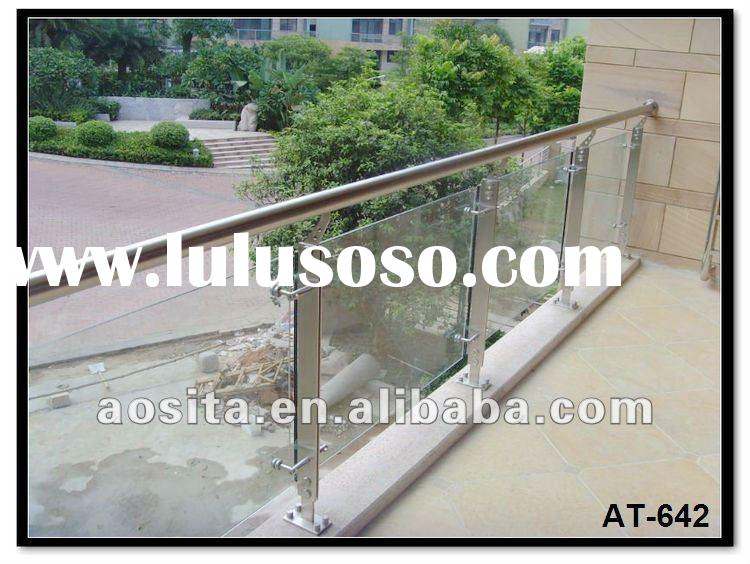 stainless steel and glass balcony railing designs