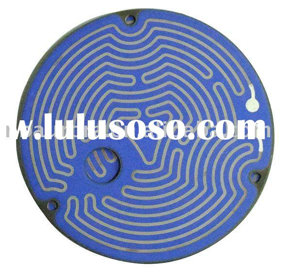 thick film stainless steel heating element