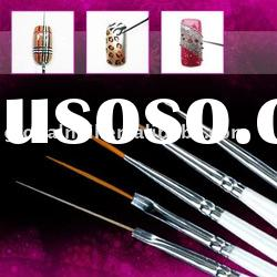 15 Pcs Acrylic Nail Art Design Painting Pen Brush Set