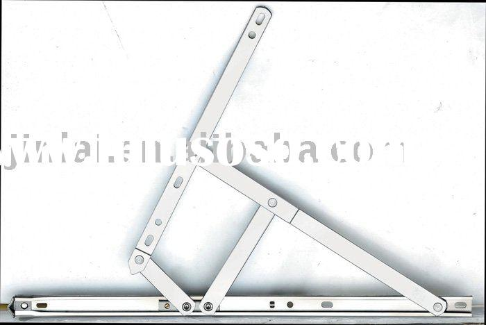 4-bar square slot window hinge