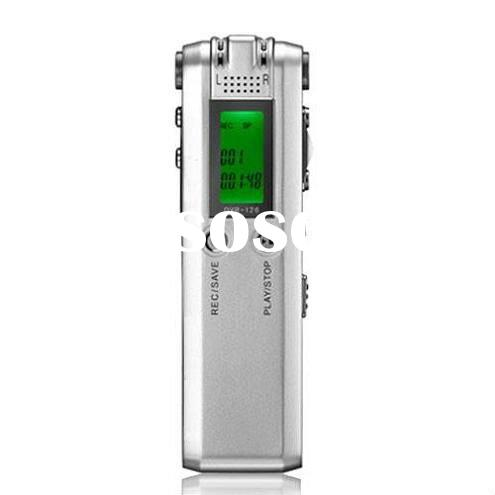 8gb professional digital voice recorder, digital audio recording device