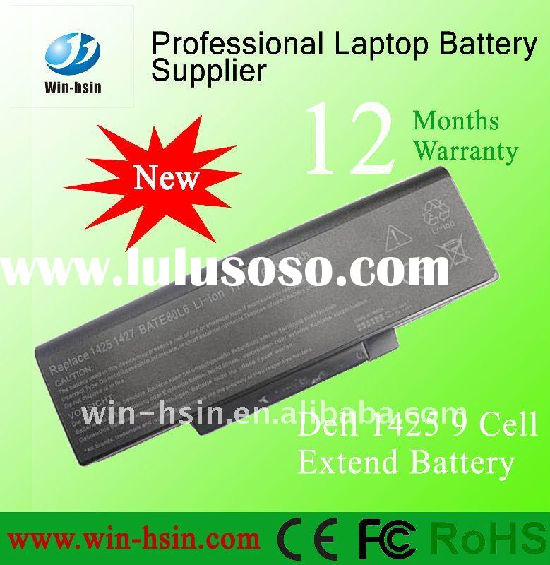 9cells Replacement laptop battery pack for Dell 1427 BATEL80L9