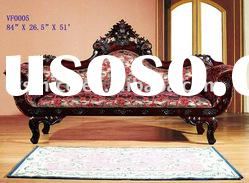Antique chaise lounge,living room chaise lounge,fabric chaise lounge,solid wood classical furniture