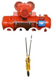 Electric single hook wire rope hoist