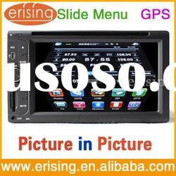 Erisin HD Touch Screen 6.2 Inch Two Din Car Stereo DVD TV Radio USB SD