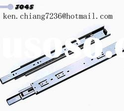 Foshan professional factory hot sale 45mm 3 fold ball bearing telescopic rail
