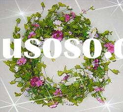 Latest New Spring Artificial Flowers Wreaths for easter