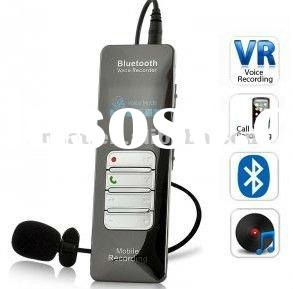 Newest Digital Voice Recorder with Bluetooth Cell Phone Recording