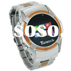 S760 KK Video 3G Wrist Cell Phone Watch Dual Sim Cards Standby