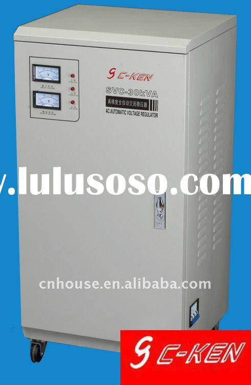 Single Phase High Accuracy Full-Automatic AC voltage Stabilizer SVC-30KVA
