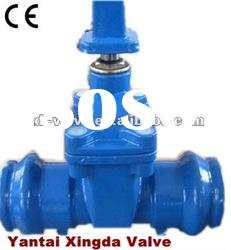 Socket Ends Non-rising Resilient Seat Gate Valve