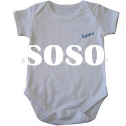 Whlosale 100% organic cotton baby clothes