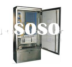 fiber optic stainless steel 288 core outdoor cable distribution box/fiber distribution box