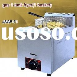 gas griddle, Stainless Steel Counter Top gas deep fryer