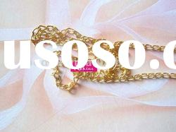 gold plated chain necklace chain cable chain