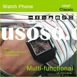 metal touch screen camera telephone watch (sWaP Classic)
