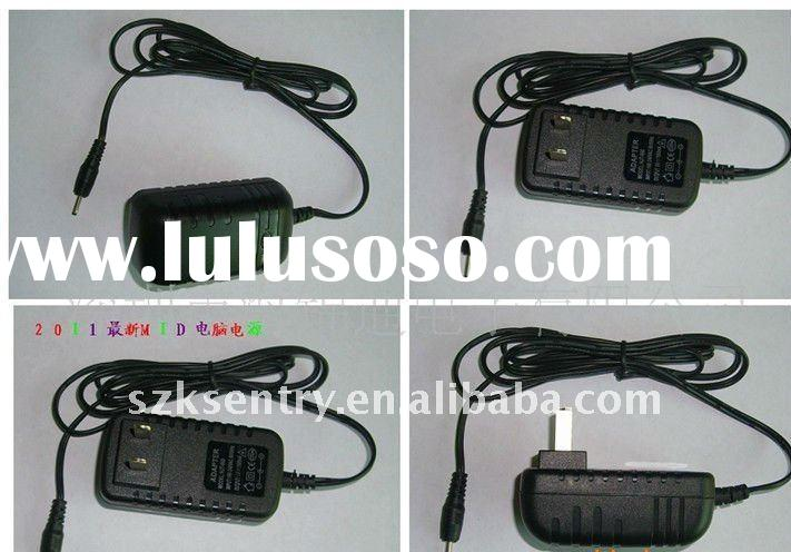 tablet pc charger ,MID travel charger, tablet pc accessories(Output 9V1.5A)