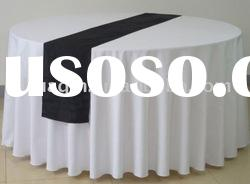 white polyester tablecloth banquet table linens wedding table covers