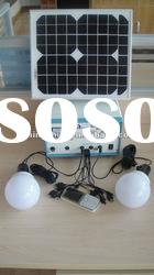 10W portable solar LED lamp for home