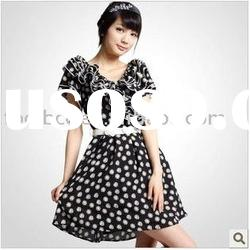 2011 new arrival summer lady print fashion dress(776)