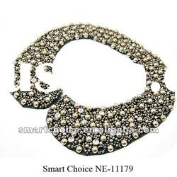 2012 fashion beaded collar necklace