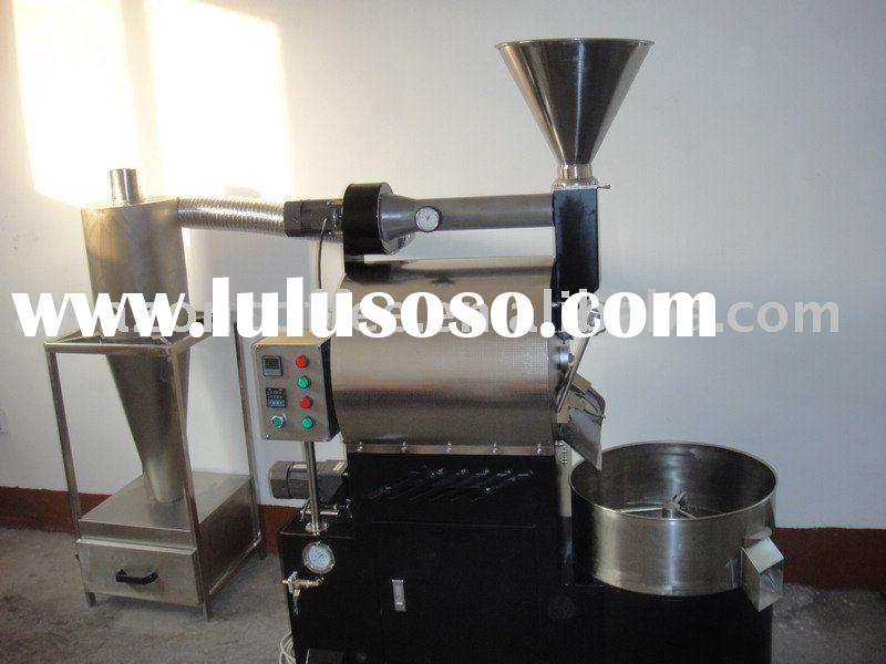 3kg Stainless Steel Gas & LPG Coffee Bean Roster Machine
