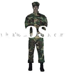 ACU 2 Polyester/Cotton Active Woodland Camouflage Military Uniform