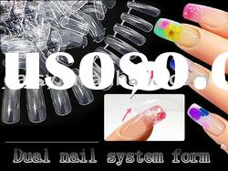 Dual Form Nail System for UV / Acrylic Nail Art Tip