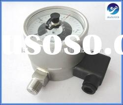Electric Contact Metal Pressure Gauge with Signal