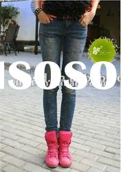 Fashion New style lady skinny jeans pencil jeans