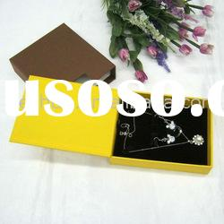 Fashion Paper Jewelry Gift Box/Necklace Earrings Ring Set Box