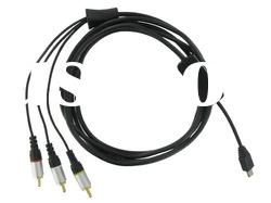 HTC Touch Pro TV Out Cable With Mini USB Charging Socket