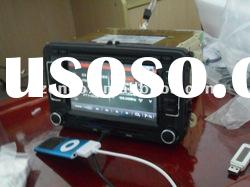 Headunit VW Golf car dvd player with auto gps navigation stereo system Gold edition (Enco-7088)