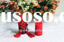 Luxurious Chinese traditional red wedding candles -- MX036