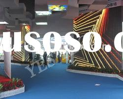 P20 indoor full color flexible led mesh curtain video wall screen