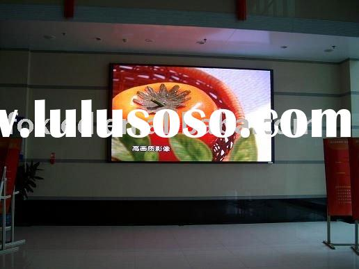 P6 Cree chip advertising indoor full color led screen