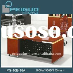 PG-10B-18A Modern design top executive mdf office furniture table
