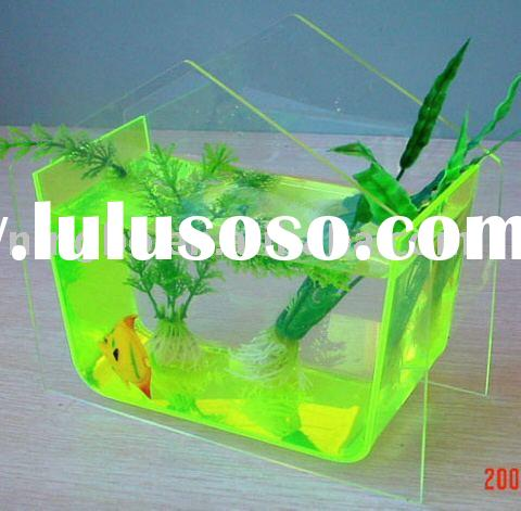Indoor fiberglass fish tank for fish farm with legs for for Small plastic fish