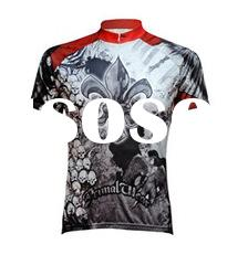 Polyester pro team cycle jerseys with digital print