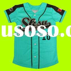 Professional custom design cheap baseball jersey with sublimation prinitng