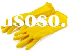 Rubber gloves for kitchen