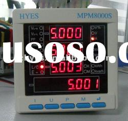 Three phase digital power meter with Modbus RS485 & Energy pulse output