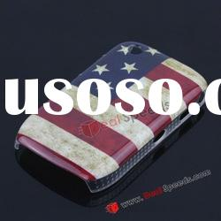United Sates Strips National Flag Hard Cover for BlackBerry Curve 8520 8530