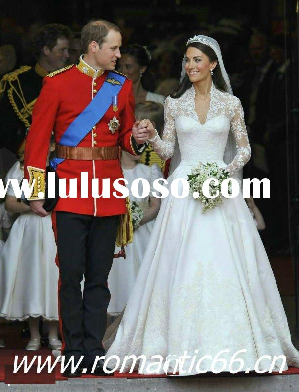 WS1 Noblest Inspired Prince William and Kate Middleton's Wedding Dress
