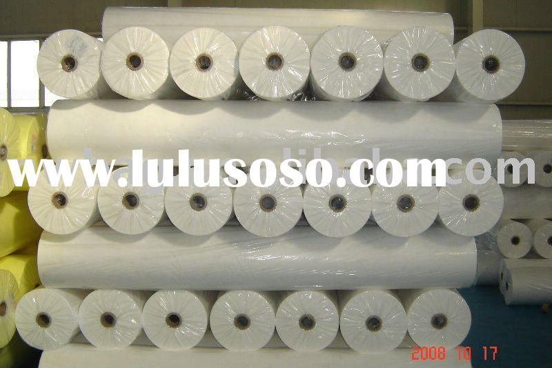 White PP Spunbond Nonwoven Fabric